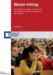 Master-Infotag - Fakultät für Physik und Astronomie - Universität ...