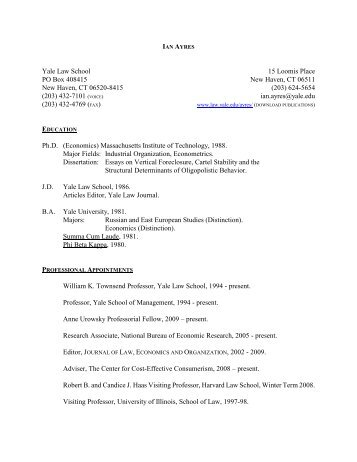 sample resume yale law yale law career services cover letter - Sample Law School Resume