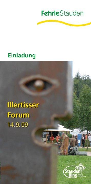 Illertisser Forum - Fehrle Stauden