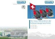 Die neue Generation der Scheuersaugmaschinen - Cleanfix AG