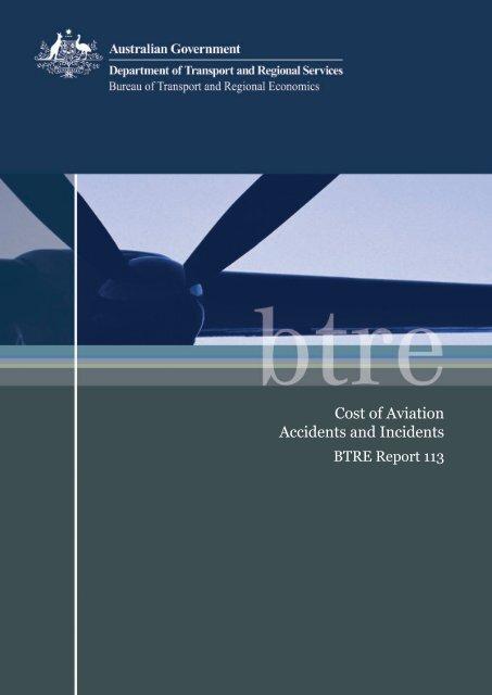 PDF: 1050 KB - Bureau of Infrastructure, Transport and Regional ...