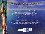 Manejo y Conservación del Iberá
