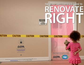 Renovate Right - US Environmental Protection Agency