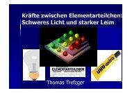 Kräfte zwischen Elementarteilchen: Schweres Licht und starker Leim