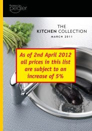 As of 2nd April 2012 all prices in this list are ... - Pegler Yorkshire