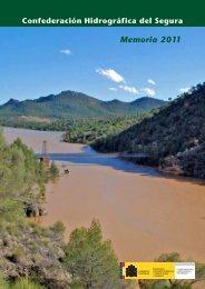 Memoria 2011. Descargar - Confederación Hidrográfica del Segura