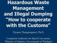 """Hazardous Waste Management and Illegal Dumping """"How to ... - Inece"""