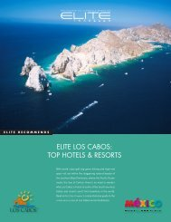 ELITE LOS CABOS: TOP HOTELS & RESORTS - Elite Traveler