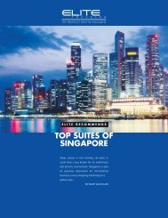 TOP SUITES OF SINGAPORE - Elite Traveler