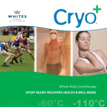 Cryotherapy Brochure - Whites of Wexford