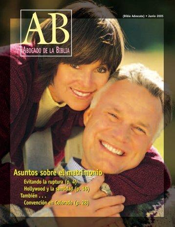 4-9 de julio del 2005! - The Bible Advocate Online