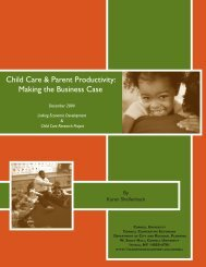 Child Care & Parent Productivity: Making the ... - Cornell University