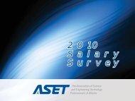 2010 Salary Survey - ASET