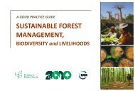 Sustainable Forest Management - Convention on Biological Diversity