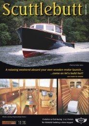 Scuttlebutt - Wooden Boat Association NSW