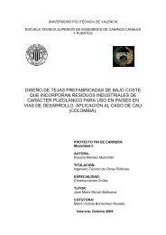 Proyecto 1 - Universidad Politécnica de Valencia