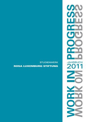 Jahrgang 1 / 2011 - Rosa-Luxemburg-Stiftung