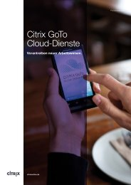 GoTo Cloud Services Overview - Citrix Online