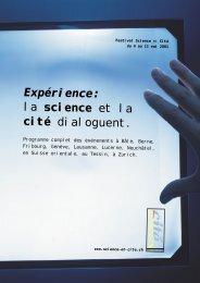 la science et la cité dialoguent. - Tesla Society Switzerland