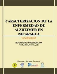 caracterizacion de la enfermedad de alzheimer en nicaragua