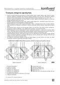 REGO RECU PE montavimo instrukcija - Komfovent - Page 5