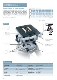 DS60 Fluid Head and systems.pdf - Leo's Camera Supply