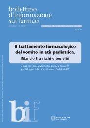 N. 5 2007 - Agenzia Italiana del Farmaco