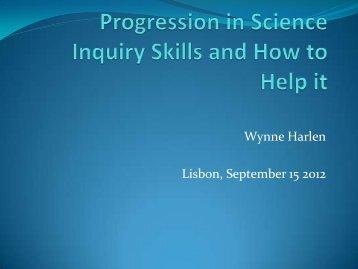 Wynne Harlen Lisbon, September 15 2012