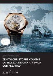 zenith christophe colomb la belleza de una atrevida complejidad
