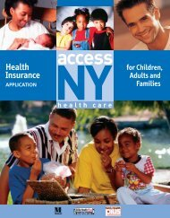 Health Insurance Application Access NY - Health Care for Children ...