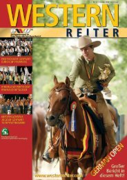 Fotos zur German Open 2008 - Erste Westernreiter Union ...
