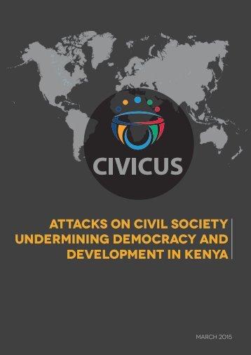 Kenya Policy Action Brief