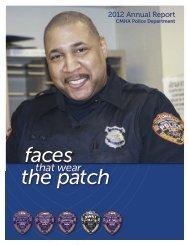 CMHA Police Department Annual Report 2012 - Cuyahoga ...