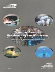 Enhancing America's Manufacturing Competitiveness: A Review of the