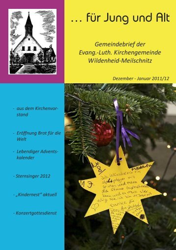 Gemeindebrief Dezember-Januar 2011-12.pub - Kirchengemeinde ...
