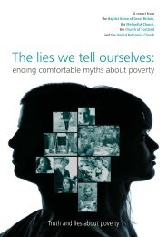 The lies we tell ourselves - Joint Public Issues Team