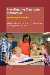 Investigating Classroom Interaction - (SES) de Telecom ParisTech