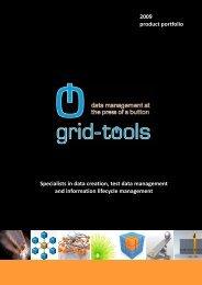 Grid-Tools 2009 Product Portfolio.pdf - I-Newswire