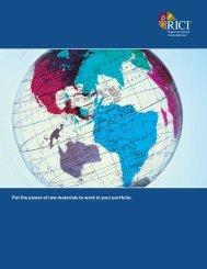 RICI brochure - Uhlmann Price Securities