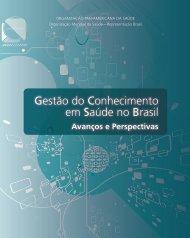 Gestão do Conhecimento em Saúde no Brasil - Observatorio de ...