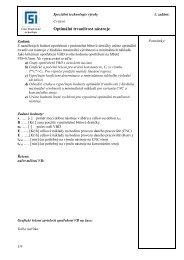 Optimální trvanlivost nástroje - VUT UST