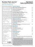 Nuclear Plant Journal - Digital Versions - Page 5