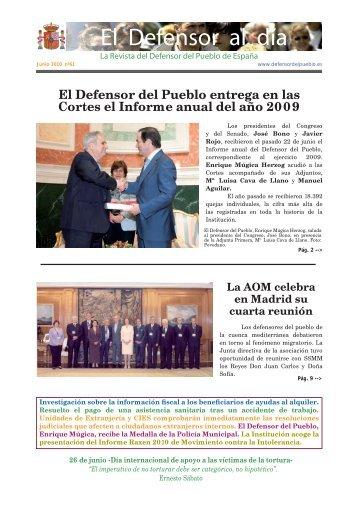 Revista El Defensor al Día - Defensor del Pueblo