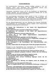 AUSSCHREIBUNG - Wohnungsbau Stadt Moers GmbH
