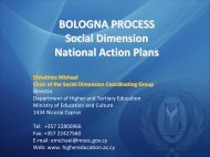 From Prague to the national action plans for social dimension