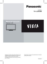Manual TV - Panasonic