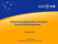 Determining Materiality to Support Sustainability Reporting