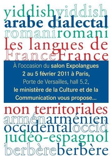télécharger le programme - Délégation générale à la langue ...