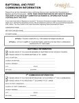 Confirmation Registration Packet - St. James Parish - Page 4