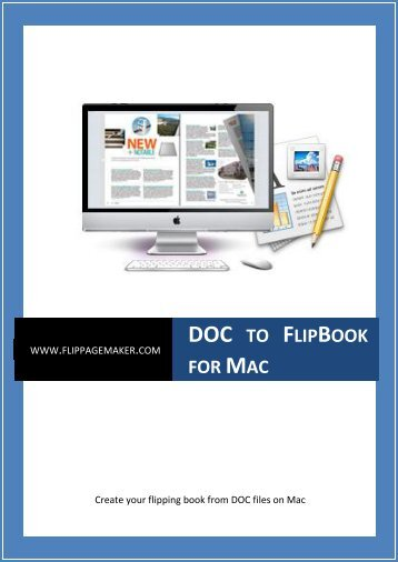 About DOC to FlipBook for Mac - FlipPDF.com